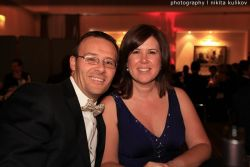 Mr. and Ms. Cormier, Desjardin Group, Vice President Finance, at the G-20Y Summit Opening Gala Dinner