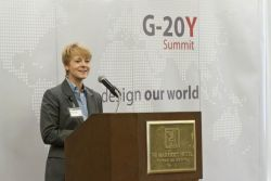 G-20Y Summit Opening Ceremony, participant speech Michelle N. Miller, Vice President, Strategic & Financial Planning FedEx Express, USA