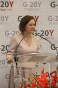Ksenia Khoruzhnikova - G-20Y Association Founder and President