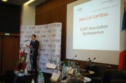 Jean-Luc Larribau, G-20Y Association Spokesperson
