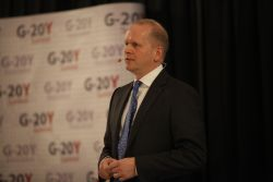 Michael Miebach, G-20Y Summit 2016 Opening Speaker, G-20Y Association Advisory Board Member, Chief Product Officer, Masterсard, New York