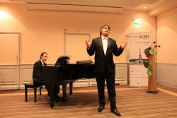 G-20Y Summit Opening Gala Concert, Timur Abdikeev, opera soloist at the Maryinsky Theater